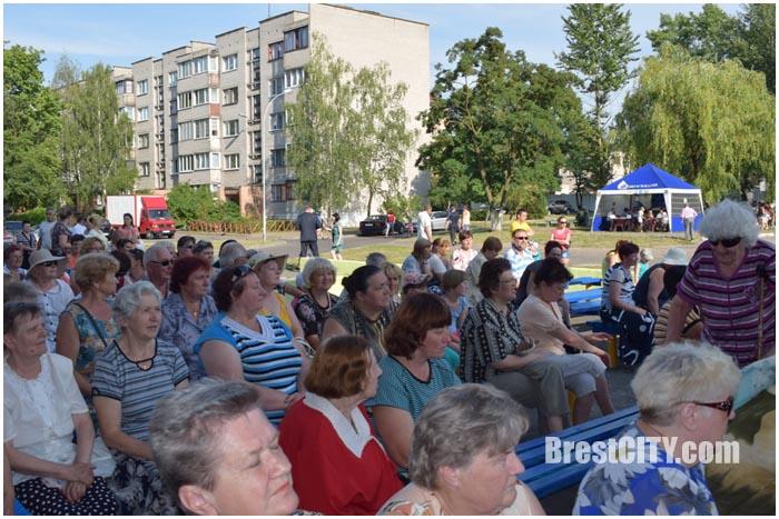 Праздник микрорайона Речица в Бресте 1 июля 2016