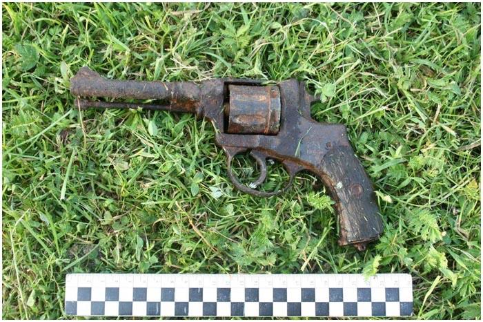 Револьвер 1943 года выпуска