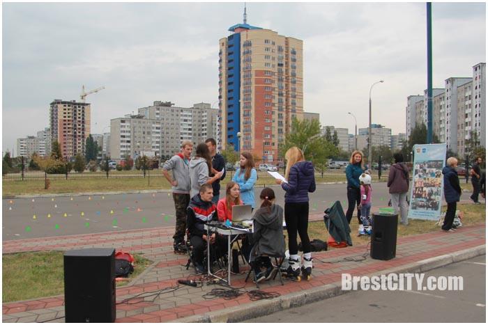 Соревнования по роллер-спорту среди детей и взрослых