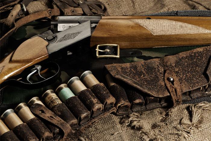 Ружье охотничье и патроны