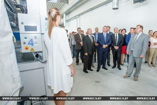 Стим. В Бресте открылся завод по производству термопластиков для дорожной разметки
