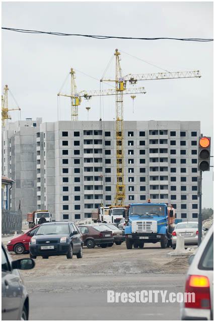 Строительство нового микрорайона на Ковалевке в Бресте