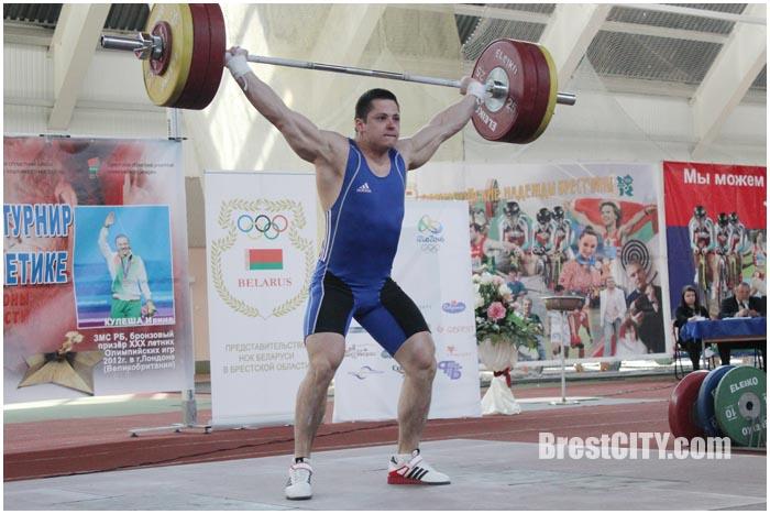 Турнир по тяжелой атлетике в Бресте