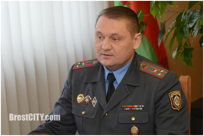 Начальник ГАИ Брестского облисполкома Сергей Талатай