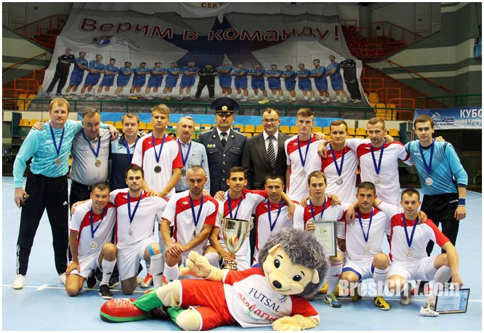 Турнир по мини-футболу среди таможенных служб в Бресте