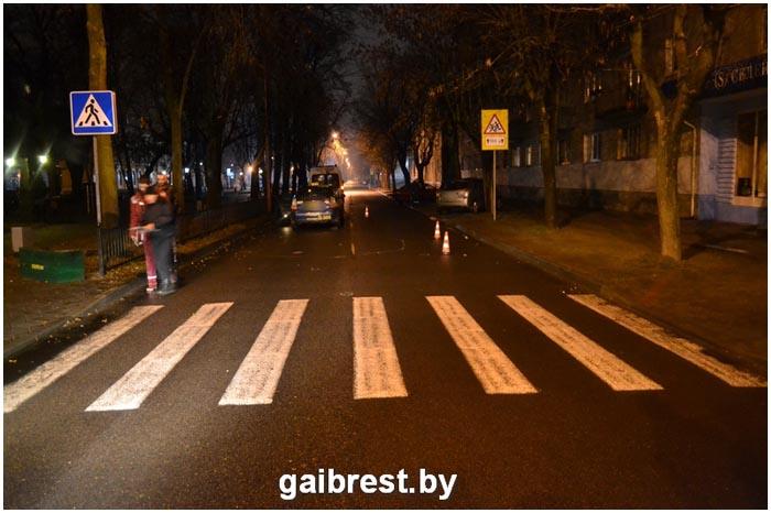 Таксист насмерть сбил брестчанина