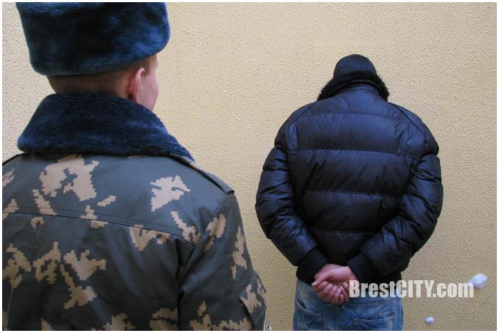 Задержан нелегал из Туниса