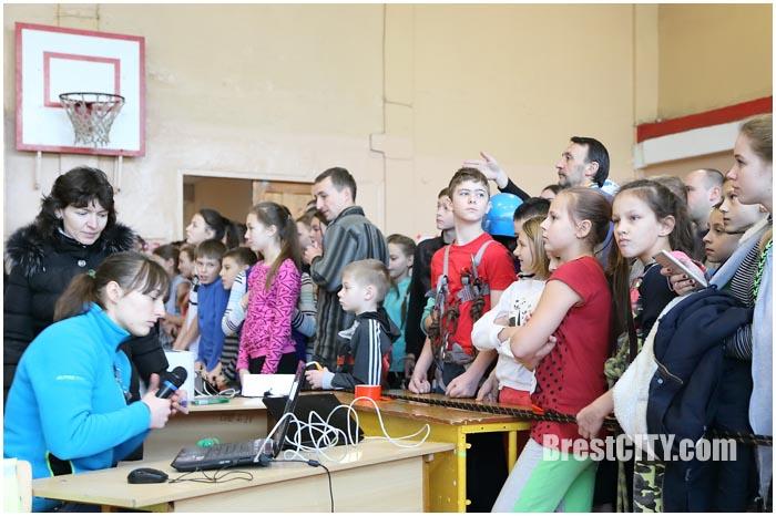 Соревнования в 28-й школе Бреста по туризму