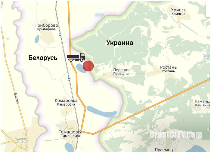 Грузовик Урал. Попытка перегона через границу в Украину