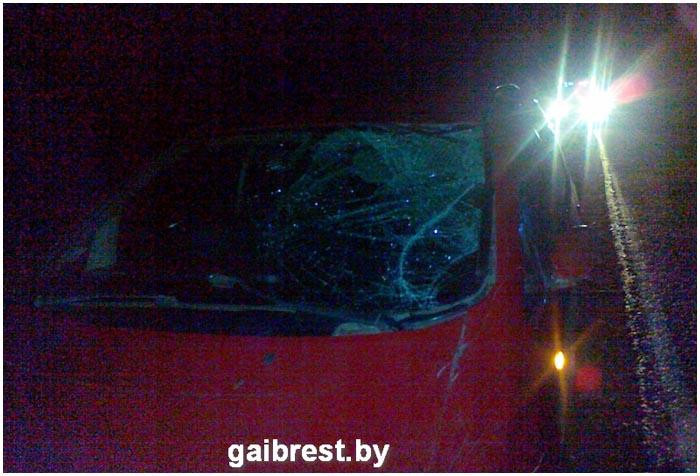 Авария с участием велосипедистки в Барановичском районе