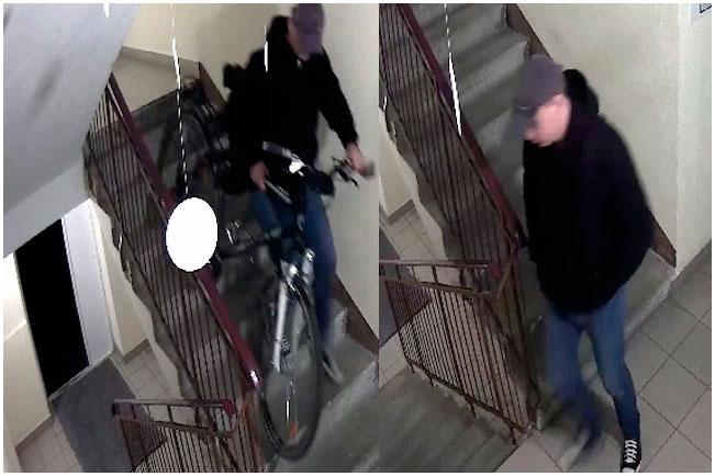 Кража велосипеда на Рокоссовского