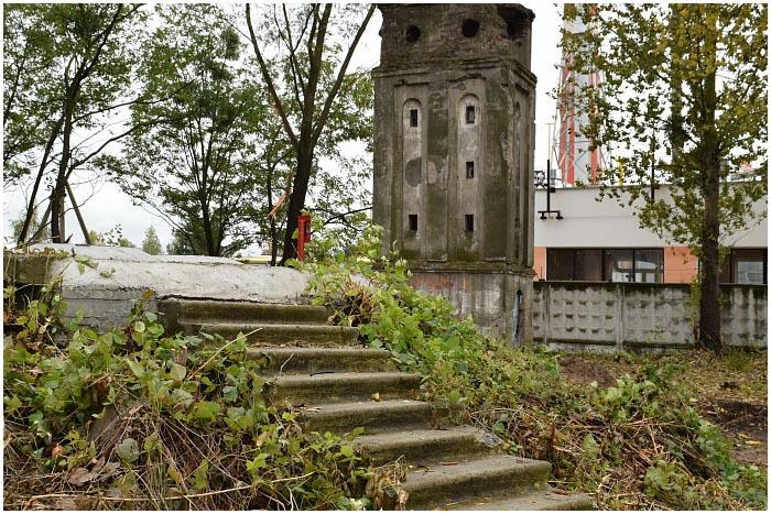 Старая водонапорная башня в Бресте
