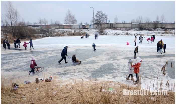 Фотографии зимнего Бреста 2016