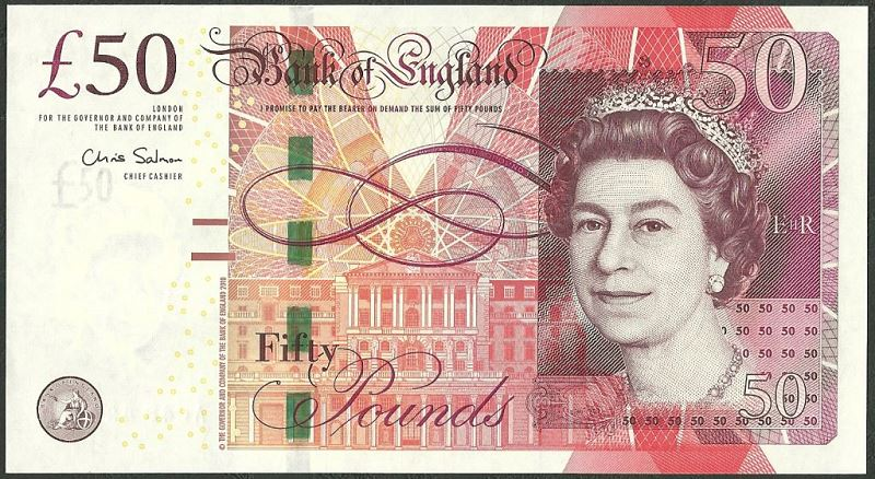 50 английских фунтов