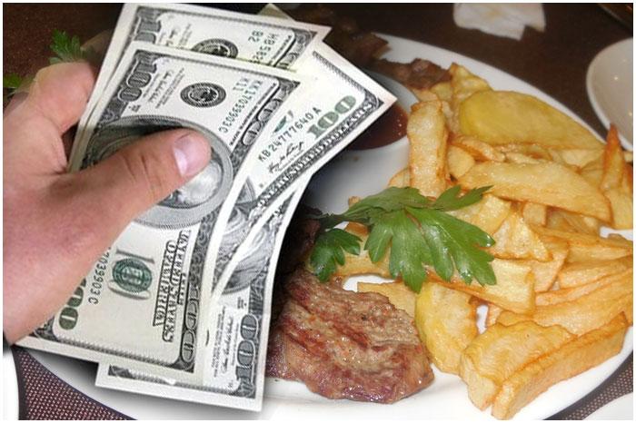 Деньги. Ресторан