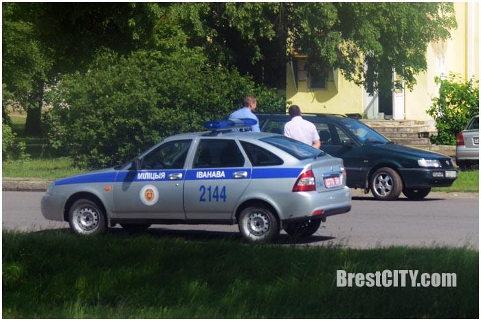 Банкомат в Ивановском районе Бресте ограблен