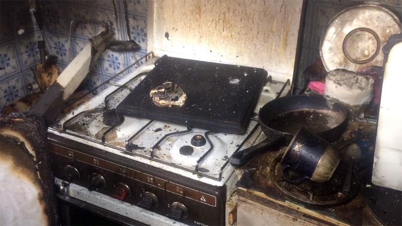 Пожар в Барановичах