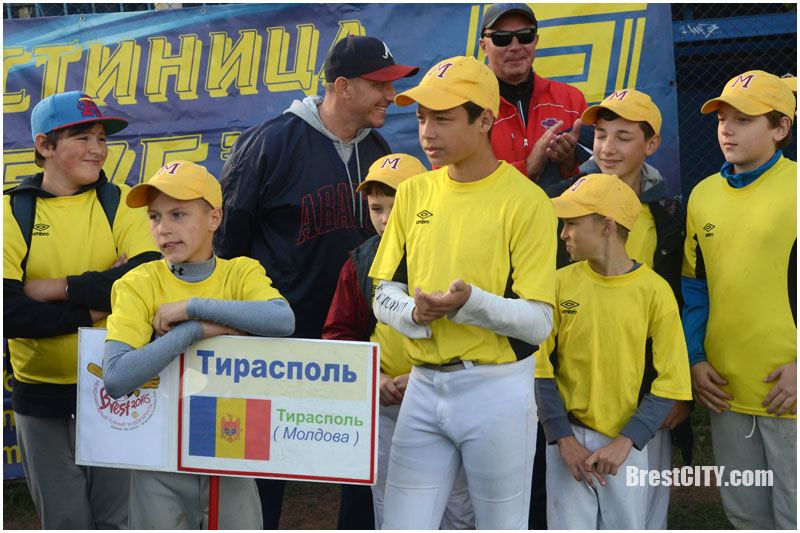 Соревнования по бейсболу в Бресте