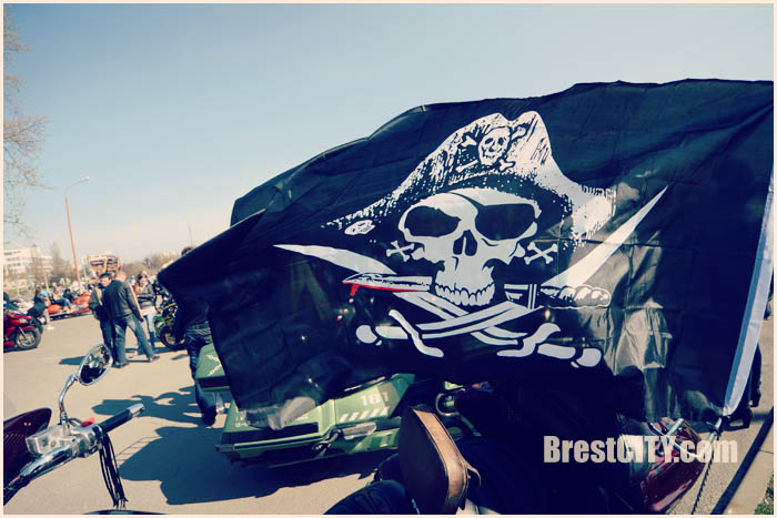 Байкеры в Бресте открыли мотосезон 2017. Фото BrestCITY.com