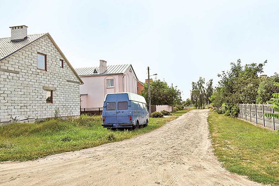 Водопровод на улице Благовещенской