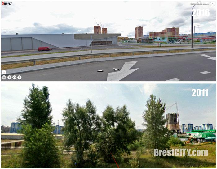 Как изменился Брест всего за пять лет. Панорамы Яндекса. Фото BrestCITY.com