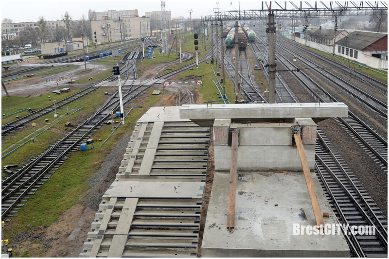 Строительство моста Брест-Восточный