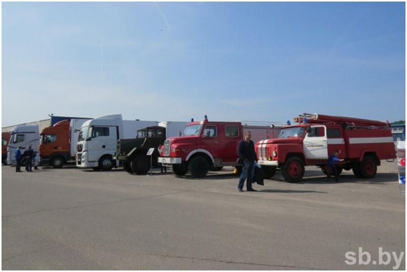 Соревнования дальнобойщиков в Бресте