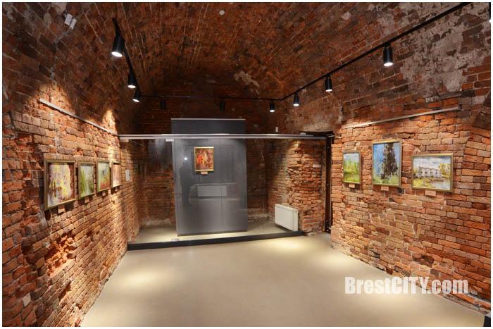 Выставка Тамары Денисовой в Бресткой крепости