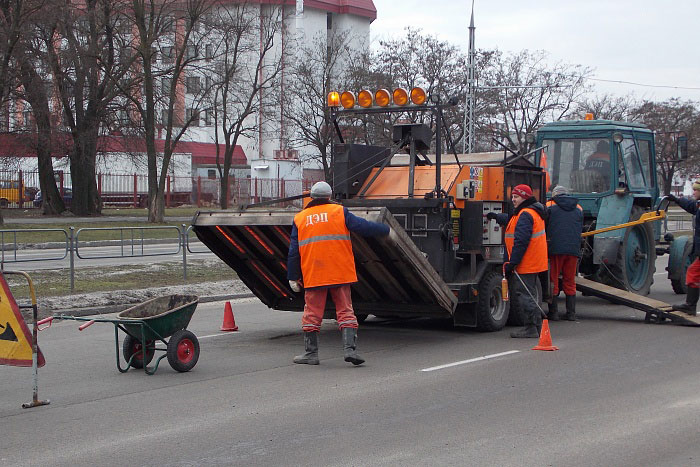 У брестского ДЭП новая чешская машина