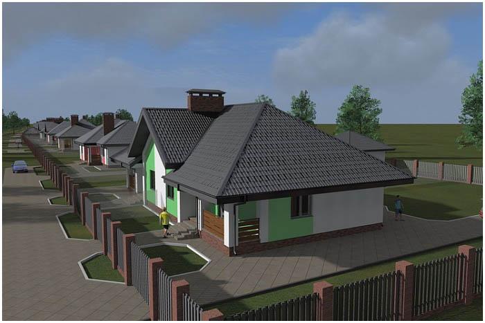 Строят квартал для переселенцев с ул.Поплавского