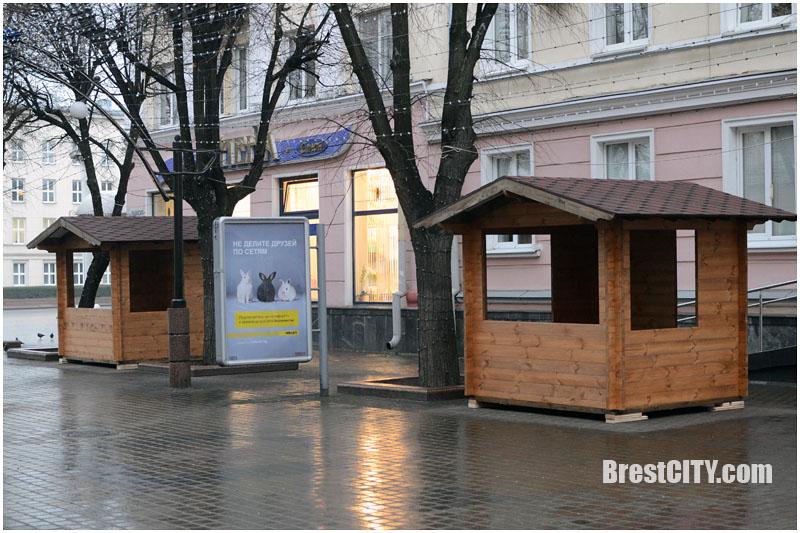 Деревянные домики на Пушкинской