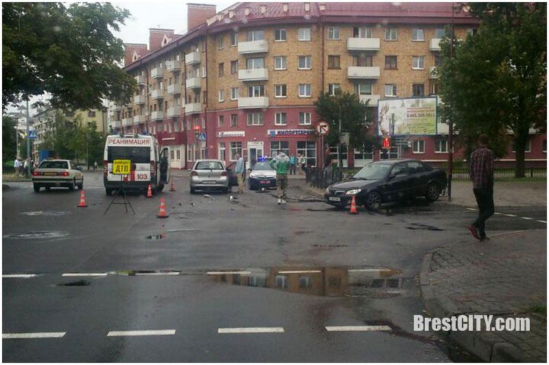 Авари в Бресте