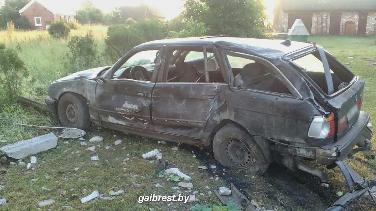 Авария в Кобринском районе Бреста