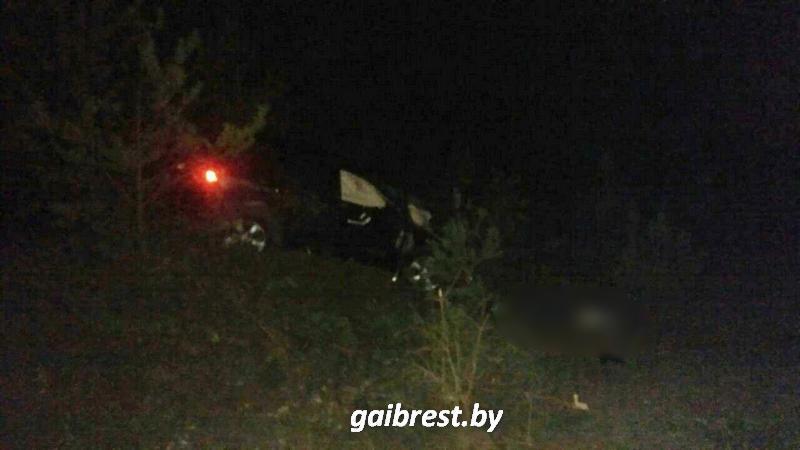 Авария на Красном Дворе в Бресте ночью 23 августа 2017