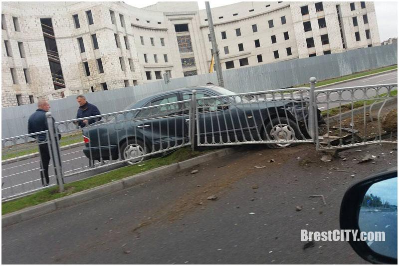ДТП возле ТЭЦ в Бресте