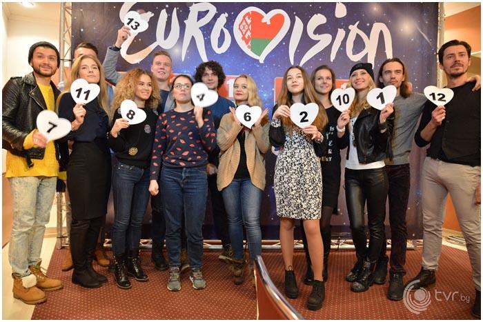 Евровидение 2017. Участники от Беларуси