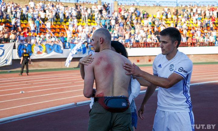 Финал Кубка Беларуси по футболу. Фанаты