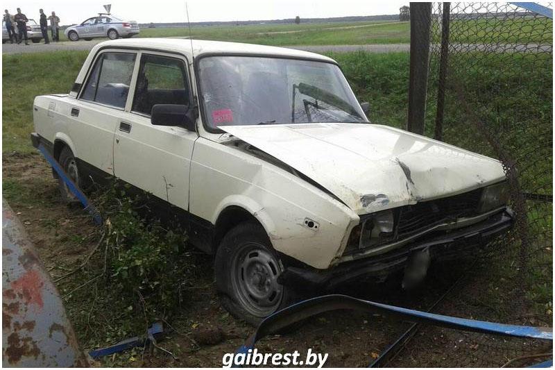 Авария в Жабинковском районе 14 сентября 2017