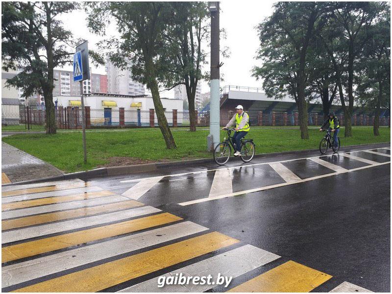 Велодорожка в Бресте