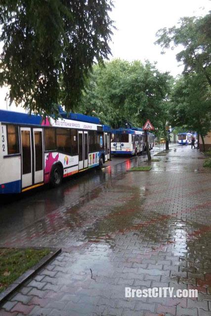 Потоп в Бресте 25 июля