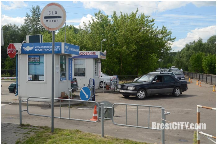 Ограждения возле пункта пропуска Брест на границе. Фото BrestCITY.com
