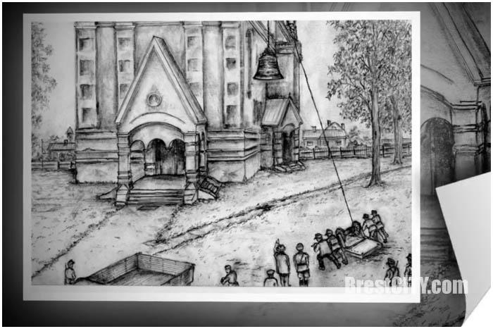 Брест в рисунках Владимира Губенко