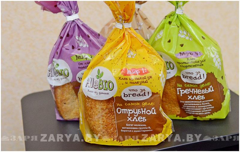 Новая линейка хлеба в Бресте