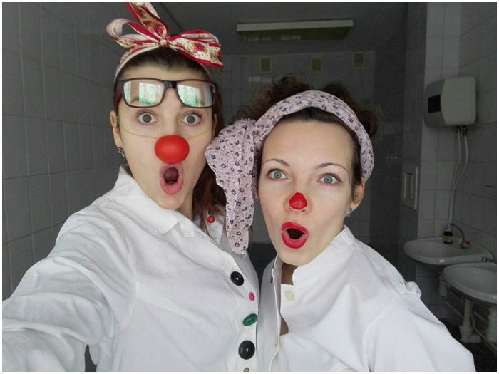 Больничные клоуны Бресте