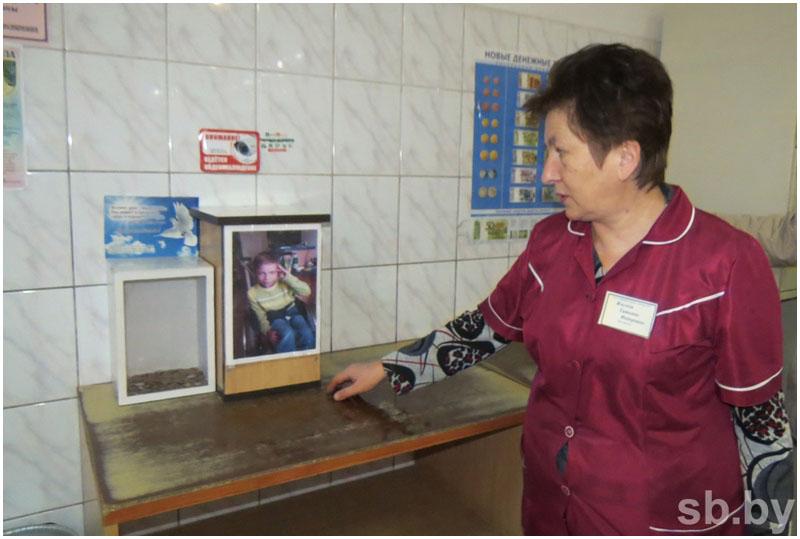 Кража ящика для пожертвований в Кобрине