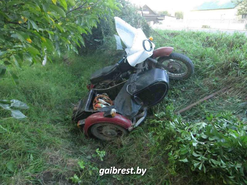 Авария в Кобрине. Погибла пассажир мотоцикла