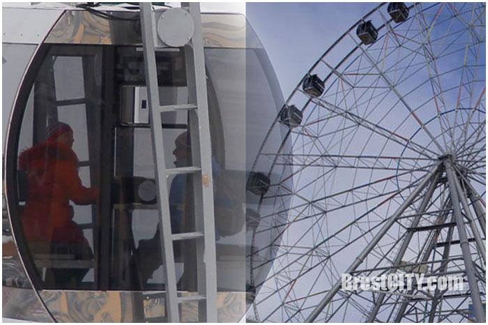 Колесо обозрения новое появится в брестском парке