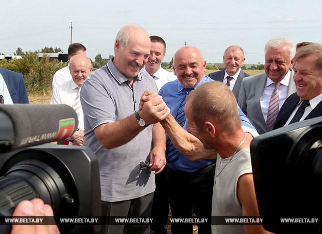 Президент посещает Брестскую область
