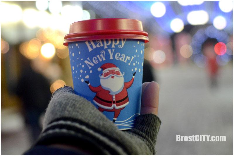 Новогодняя красота в Бресте