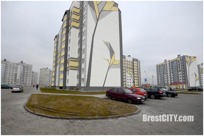 Строительство нового микрорайона в Бресте за рынком Лагуна